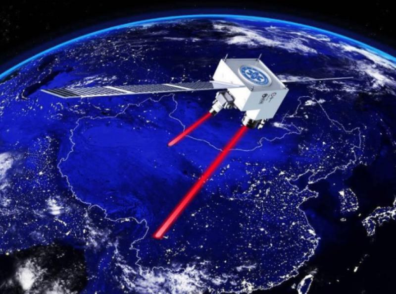 Chinese satellite relays…