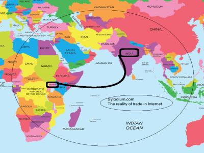 非洲乌干达地图中文版